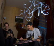 graffiti virtuel par Mike